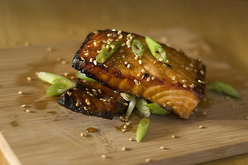 Skye Hansen Asian Salmon Recipe